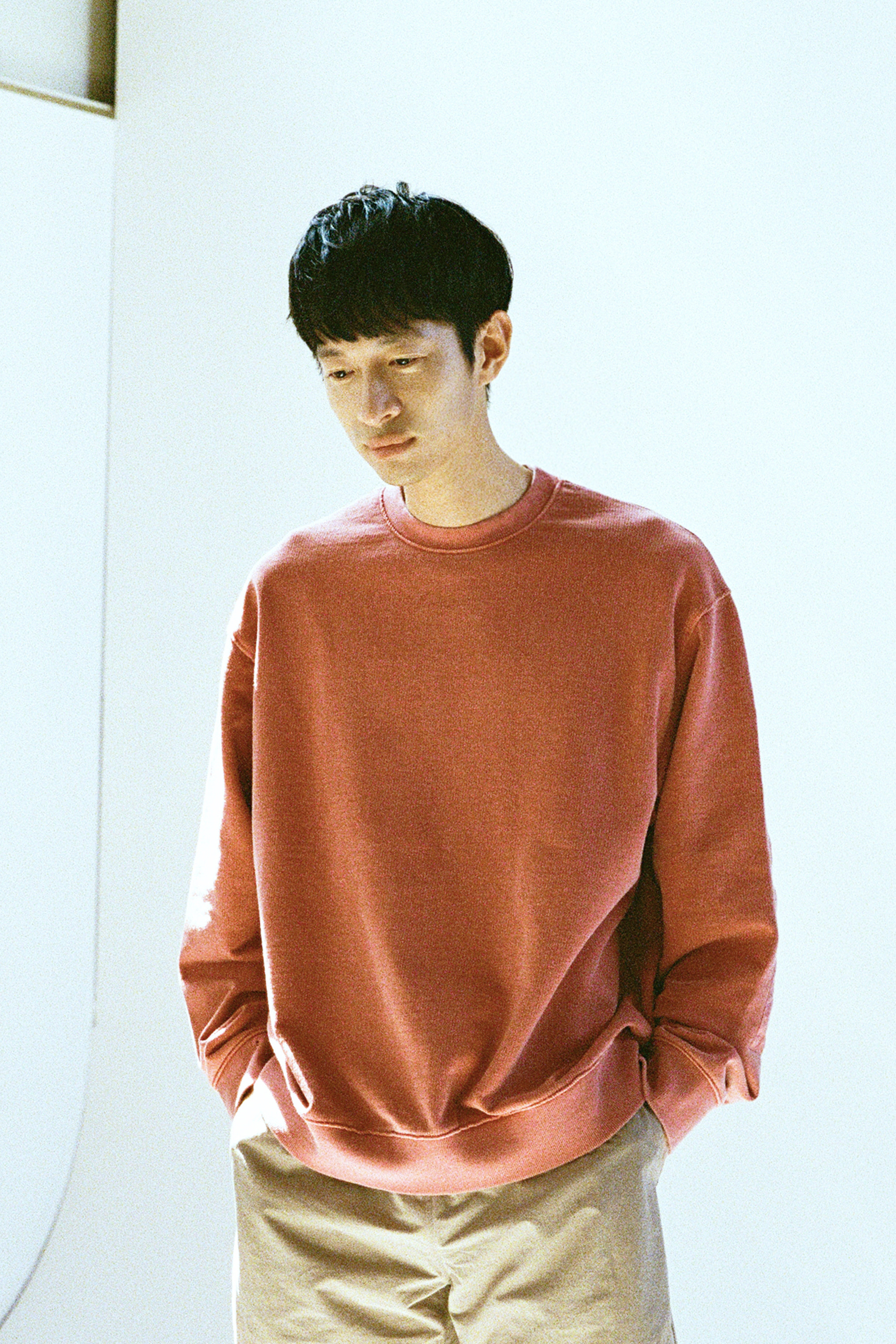 19SS RED PIGMENT SWEATSHIRT