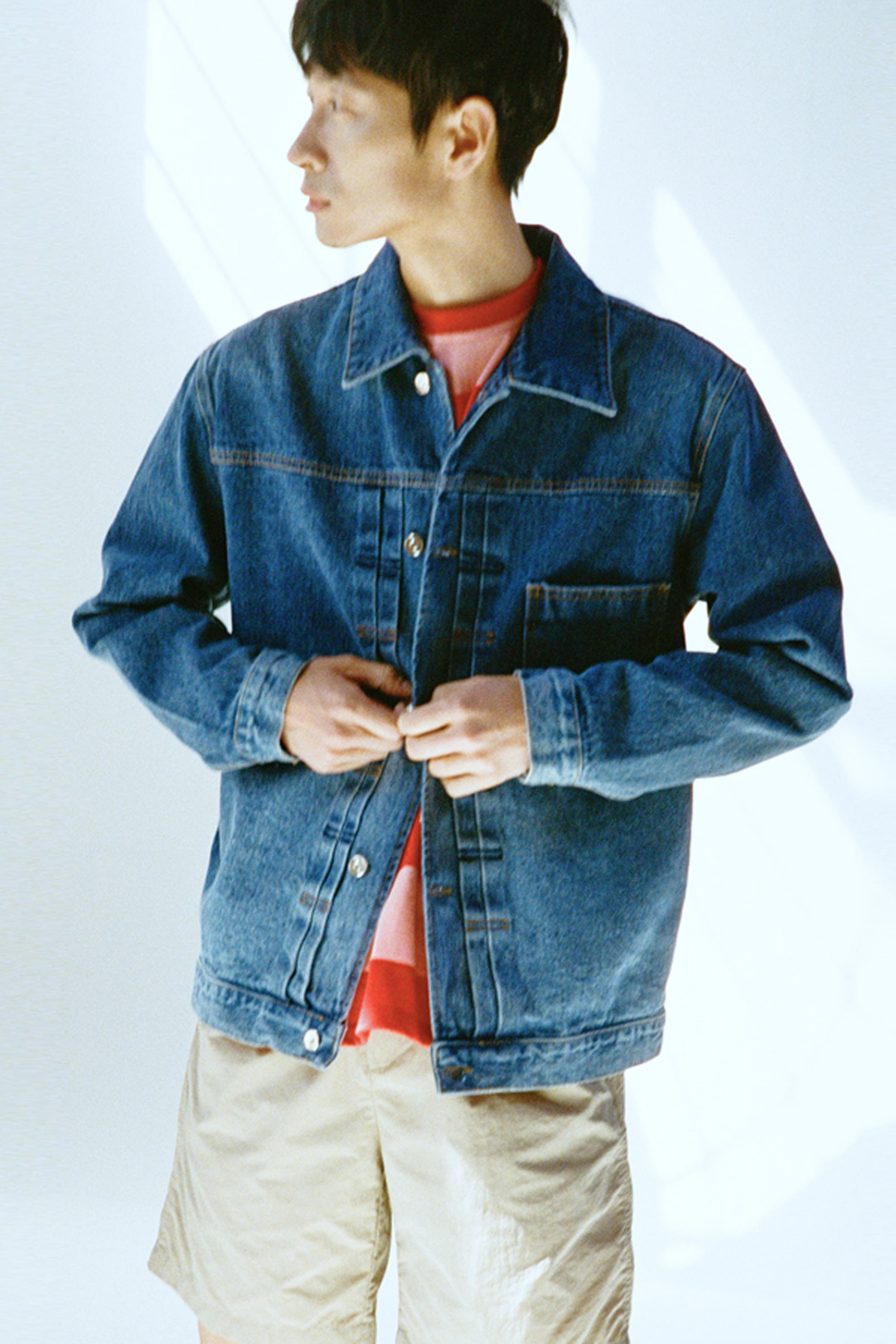 19SS BLUE DENIM JACKET