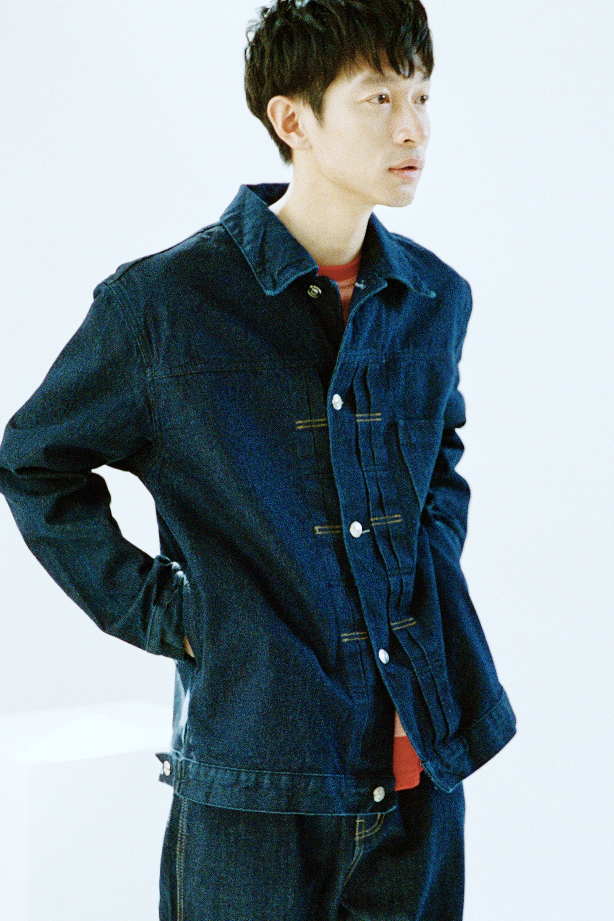 20SS NAVY DENIM JACKET