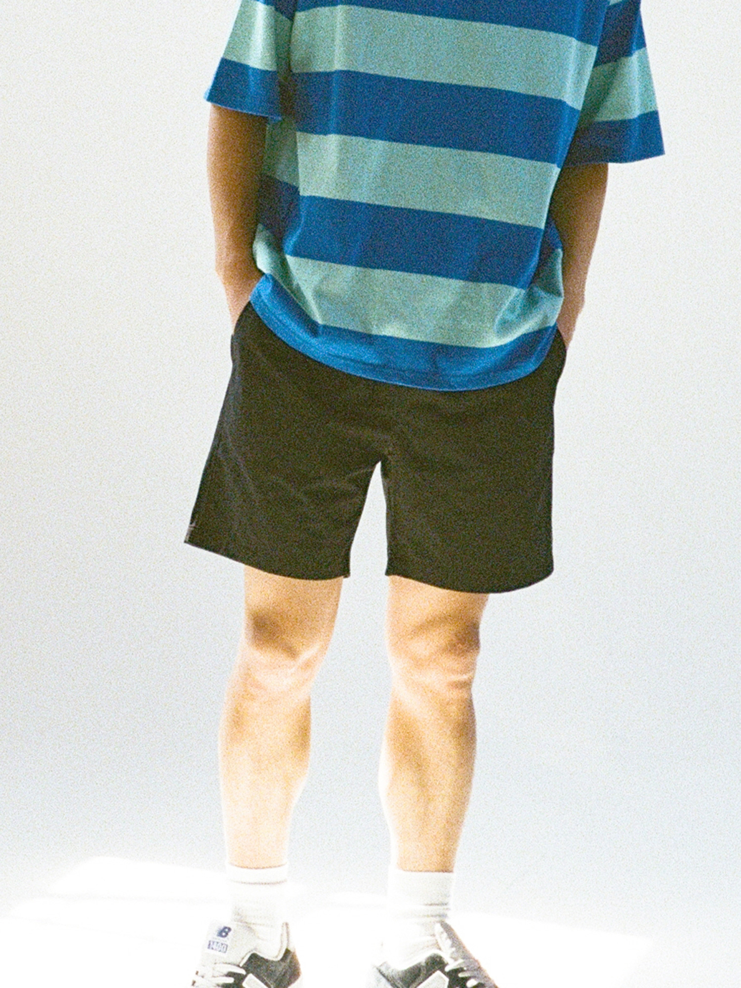 20SS NAVY RESORT SHORTS